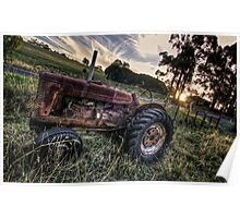 Tractor HDR II Poster