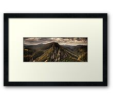 Leven Canyon Panorama ~ HDR Framed Print