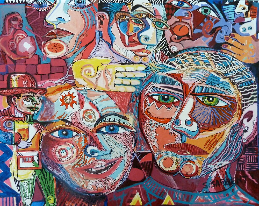 Celebrate Diversity by Sally Sargent