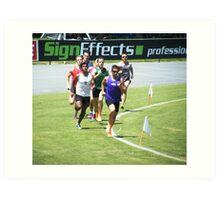 Wangaratta Sports Carnival 2011 Art Print