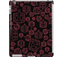 Cycling on Red Pedals iPad Case/Skin
