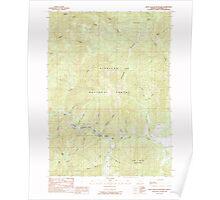 USGS Topo Map Oregon Eight Dollar Mountain 279767 1989 24000 Poster