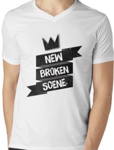 NEW BROKEN SCENE II  Mens V-Neck T-Shirt