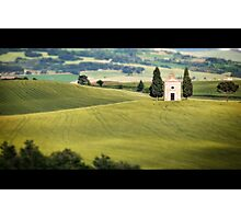 Little Chapel on the Prairie Photographic Print