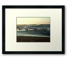 Warm Water Framed Print