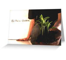Raise Children Greeting Card