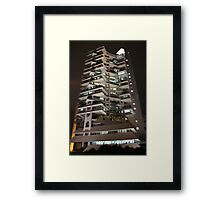 Intiland Tower (by night) Framed Print