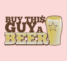 Buy this GUY a BEER! with pint glass One Piece - Long Sleeve