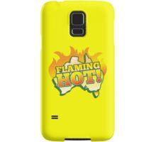 FLAMING HOT Aussie Australia map Samsung Galaxy Case/Skin