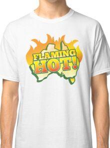 FLAMING HOT Aussie Australia map Classic T-Shirt