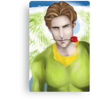 Guardian Angel - You are beautiful Canvas Print