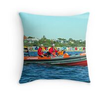 LSV's new RIB 01 Throw Pillow