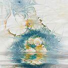 Dreamy World In Blue by Deborah  Benoit