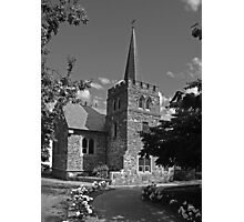 Anglican church - Queenstown Photographic Print