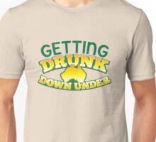 GETTING DRUNK down under! Unisex T-Shirt