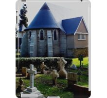St Barnabas Church and Grave Yard Norfolk Island iPad Case/Skin