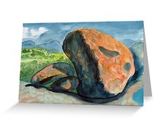 Rocks on Evans Crown Greeting Card
