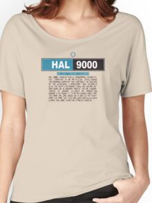 HAL 9000 Women's Relaxed Fit T-Shirt