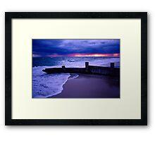 Stormy Sky over Mcrae Beach Framed Print