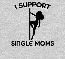 I Support Single Moms Women's Fitted Scoop T-Shirt
