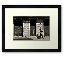 Walking with Purpose Framed Print
