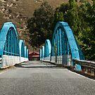 Blue Bridge by Werner Padarin