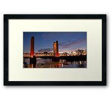 Tower Bridge, Sacramento Framed Print