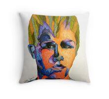 Bubbler Portrait - Zach Woomer [2] Throw Pillow