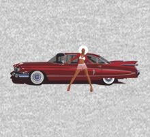 The Seventies are back - Red Cadillac by Kilioa