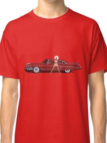 The Seventies are back - Red Cadillac Classic T-Shirt
