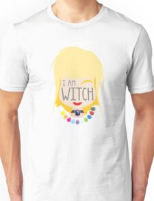 I AM WITCH blonde girl with Black Jewels Jaenelle Unisex T-Shirt