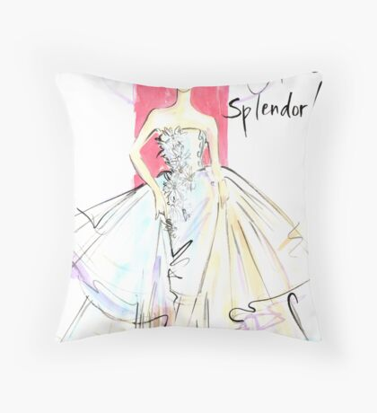 Springtime Splendor! Throw Pillow