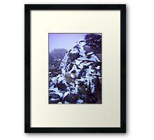 Windblasted Ice - Ben Nevis Framed Print