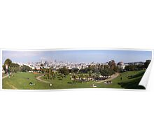 Mission Dolores Panorama Poster