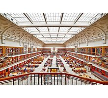Mitchell Library Reading Room Photographic Print