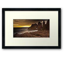 The Pinnacles - Phillip Island Victoria Framed Print