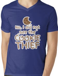 No, I did not see the cookie thief cute choc chip biscuit Mens V-Neck T-Shirt