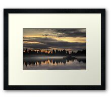 The Lost Lagoon Framed Print