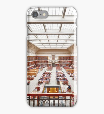 Mitchell Library Reading Room iPhone Case/Skin