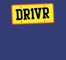 DR1VER (DRIVER) driving licence plate Unisex T-Shirt