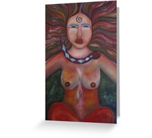 Shaman Woman Greeting Card