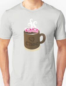 Hot Chocolate with seriously cutie Kawaii marshamallows T-Shirt