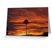 Mornings Arrived Greeting Card