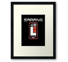 Sarang Mining Base Framed Print
