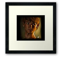 The maze runner - Newt (Thomas brodie sangster) Framed Print
