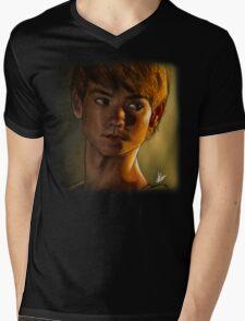 The maze runner - Newt (Thomas brodie sangster) Mens V-Neck T-Shirt