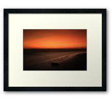 Radiance morning Framed Print