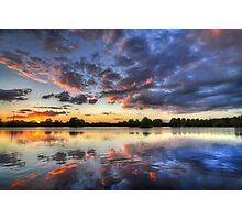 Fire & Ice - Lea Valley | Hertfordshire Photographic Print