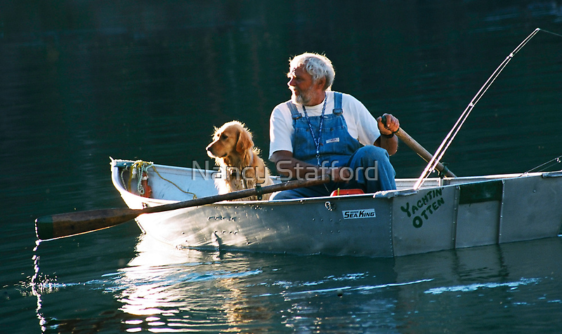 Man and His Dog by Nancy Stafford