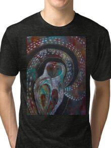 Owl Medicine - The Moon  Tri-blend T-Shirt